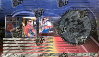 1995 Press Pass Premium Racing Hobby Box