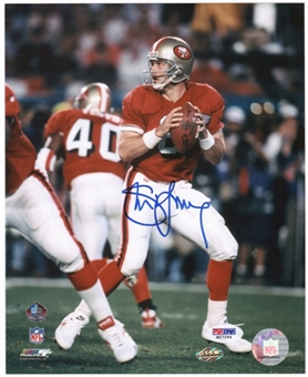 Steve Young San Francisco 49ers Autographed 8x10 Photo (PSA COA)