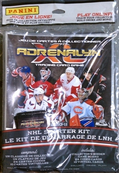 2010/11 Panini Adrenalyn XL Hockey Starter Box (Kit)