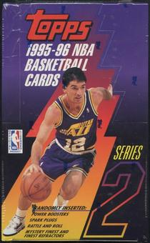 1995/96 Topps Series 2 Basketball Retail Box
