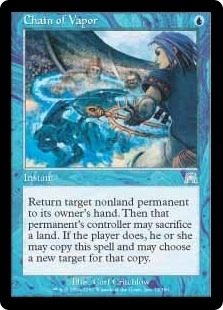 Magic the Gathering Onslaught Single Chain of Vapor Foil