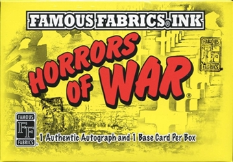 Horrors of War Hobby Box (Famous Fabrics Ink 2011)