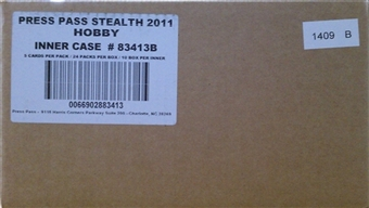 2011 Press Pass Stealth Racing Hobby 10-Box Case