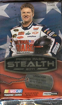 2011 Press Pass Stealth Racing Hobby Pack