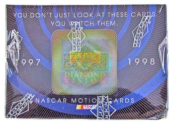 1997/98 Upper Deck Diamond Vision Racing Prepriced Box