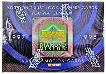 1997/98 Upper Deck Diamond Vision Racing Hobby Box