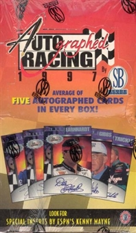 1997 Scoreboard Autographed Racing Box