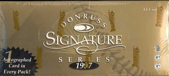 1997 Donruss Signature Series A (Black) Baseball Hobby Box