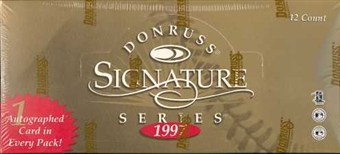 1997 Donruss Signature Series B (Red) Baseball Hobby Box