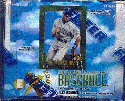 1997 Fleer E-X 2000 Baseball Hobby 18-Pack Lot