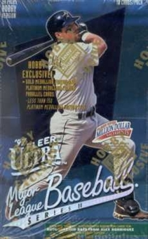 1997 Fleer Ultra Series 2 Baseball Hobby Box