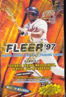 1997 Fleer Series 2 Baseball Hobby Box