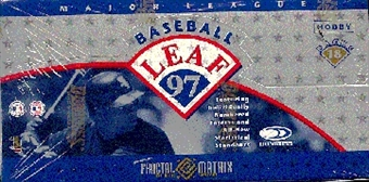 1997 Leaf Baseball Hobby Box