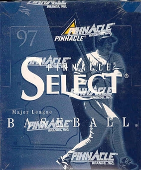1997 Score Select Baseball Hobby Box