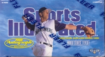 1997 Fleer Sports Illustrated Baseball Hobby Box