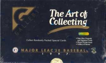 1997 Topps Gallery Baseball Hobby Box