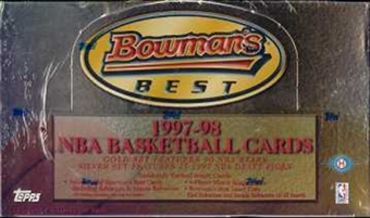 1997/98 Bowman's Best Basketball Hobby Box