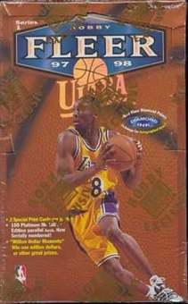 1997/98 Fleer Ultra Series 1 Basketball Hobby Box