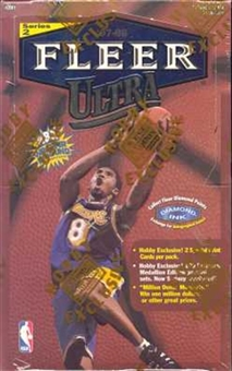 1997/98 Fleer Ultra Series 2 Basketball Hobby Box