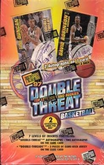 1997/98 Press Pass Double Threat Basketball Hobby Box