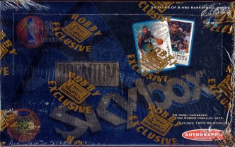 1997/98 Skybox Premium Series 2 Basketball Hobby Box