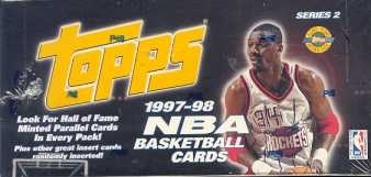 1997/98 Topps Series 2 Basketball Jumbo Box