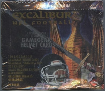 1997 Collector's Edge Excalibur Football Hobby Box