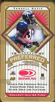 1997 Donruss Preferred Football Hobby Box