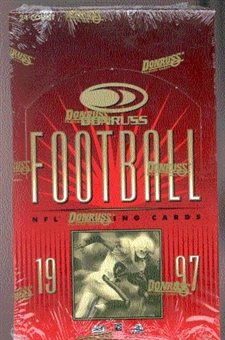 1997 Donruss Football Hobby Box