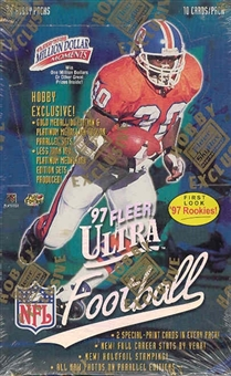 1997 Fleer Ultra Series 1 Football Hobby Box