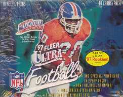 1997 Fleer Ultra Series 1 Football Retail Box