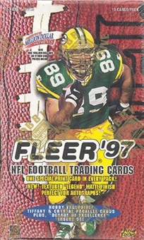 1997 Fleer Football Hobby Box