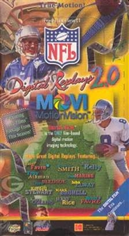 1997 Kodak Movi-vision 2 Football Hobby Box