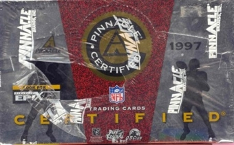 1997 Pinnacle Certified Football Hobby Box