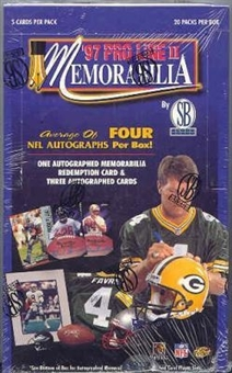 1997 Pro Line Memorabilia Football Hobby Box
