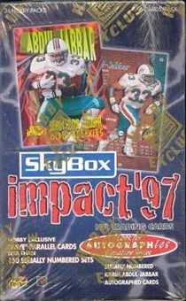 1997 Skybox Impact Football Hobby Box