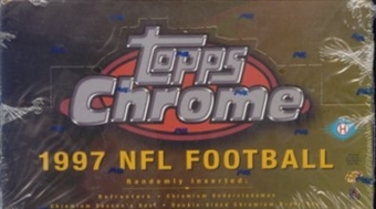 1997 Topps Chrome Football Hobby Box