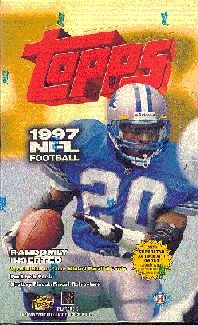 1997 Topps Football Hobby Box
