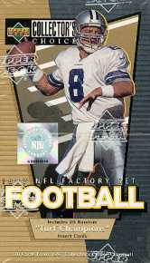 1997 Upper Deck Collector's Choice Football Factory Set