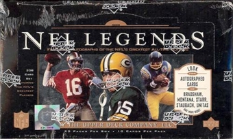 1997 Upper Deck Legends Football Retail Box