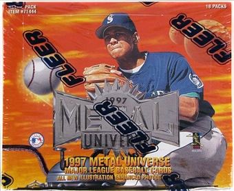 1997 Fleer/Skybox Metal Universe Baseball Retail Box