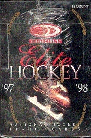 1997/98 Donruss Elite Hockey Hobby Box