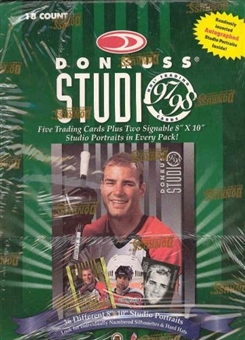 1997/98 Donruss Studio Hockey Hobby Box