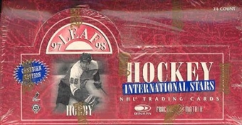 1997/98 Leaf International Canadian Hockey Hobby Box