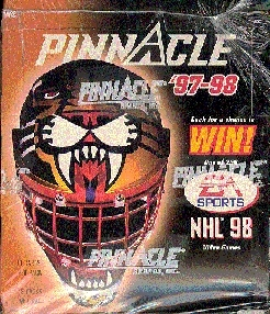 1997/98 Pinnacle Hockey Hobby Box