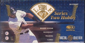 1997 Leaf Series 2 Baseball Hobby Box
