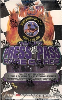 1997 Press Pass Racing Hobby Box