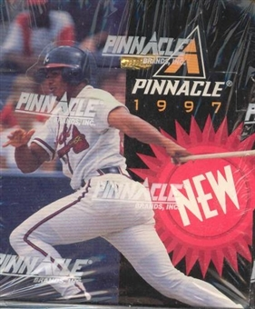 1997 Pinnacle New Pinnacle Baseball Hobby Box