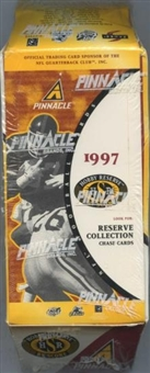 1997 Pinnacle Hobby Reserve Football Hobby Box