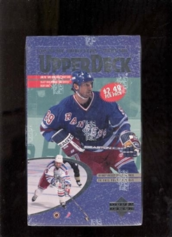 1996/97 Upper Deck Series 2 Hockey 36 Pack Box